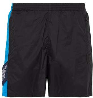 de2837626cd2 PAM Side Stripe Technical Shorts - Mens - Black Blue
