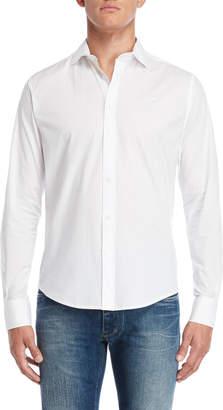 Armani Jeans White Custom Fit Shirt