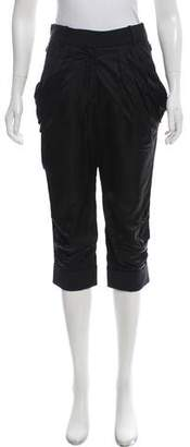 Louis Vuitton Cropped Wool-Blend Pants