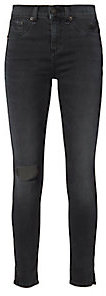 Rag & Bone Steele Slit 10 Inch Capri Jeans $215 thestylecure.com