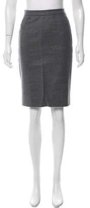Alexandra Vidal Wool Pencil Skirt w/ Tags