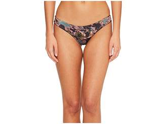RVCA Camo Floral Cheeky Bottom