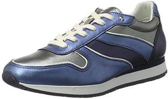 Tommy Hilfiger I1285ZZY 1C2, Women's Low-Top Sneakers, Blue (Midnight - Dark Silver - Jeans), (41 EU)