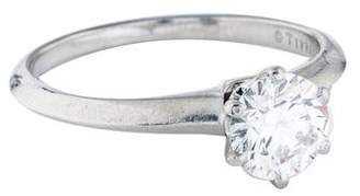 Tiffany & Co. 1.04ct Diamond Solitaire Engagement Ring