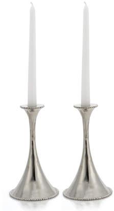 Michael Aram Set of 2 Molten Candlestick Holders