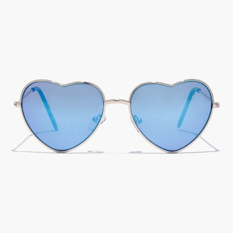 Girls' heart-shaped sunnies $28 thestylecure.com