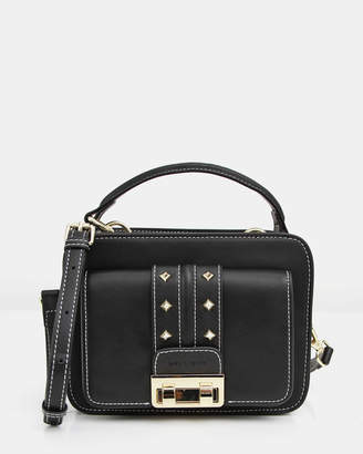 Belle & Bloom Frenchie Lover Leather Cross-Body Bag
