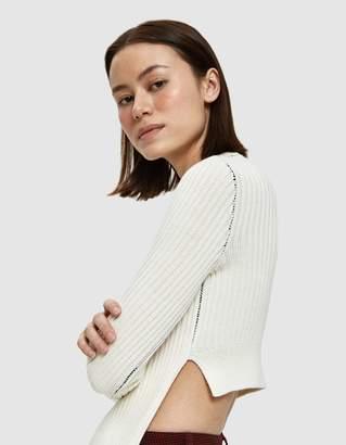 MM6 MAISON MARGIELA Apron Ribbed Sweater
