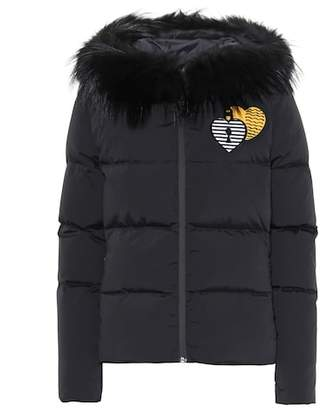 Fendi Fur-trimmed puffer coat