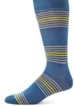 Saks Fifth Avenue COLLECTION Striped Mid-Calf Socks