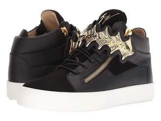 Giuseppe Zanotti May London Gold Bar Sneaker