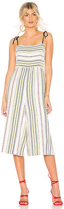 BCBGeneration Tie Shoulder Culotte Jumpsuit