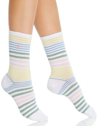 Ralph Lauren Run on Stripes Socks