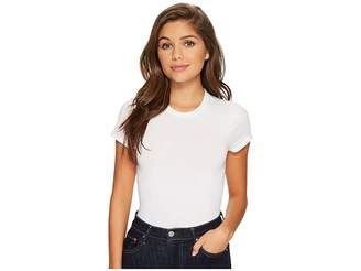 Yummie Seamless Short Sleeve Crew Neck Shaping Bodysuit