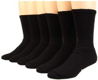 Wigwam King Cotton Crew 6-Pack Crew Cut Socks Shoes