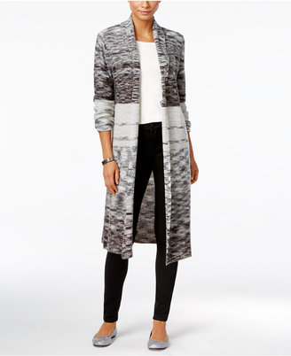 Style & Co. Space-Dyed Duster Cardigan, Only at Macy's $79.50 thestylecure.com