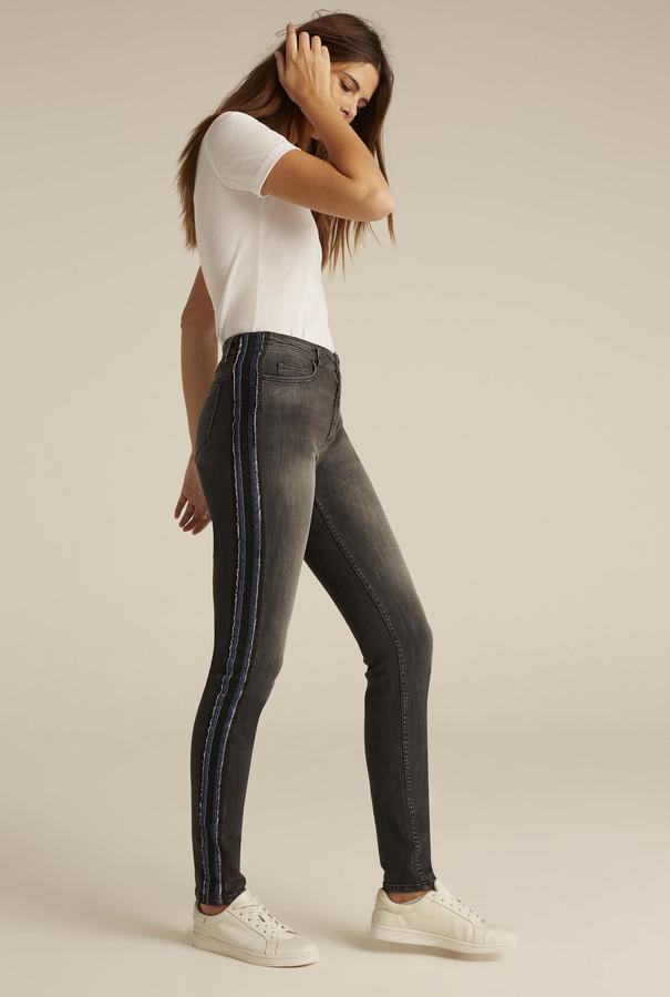 Long Tall Sally Sparkle Side Stripe Jean