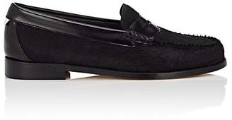 Re/Done + Weejuns Women's Whitney Calf Hair Penny Loafers