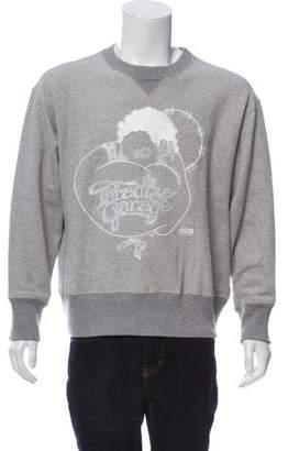 Sacai Paradise Garage Appliqué Sweatshirt