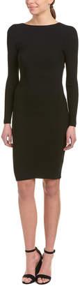 Helmut Lang Tie-Back Sheath Dress