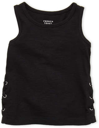 N. French Toast (Toddler Girls) Lace-Up Tank