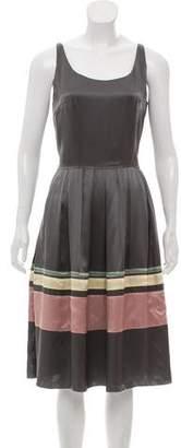 Sophie Theallet Silk Midi Dress w/ Tags