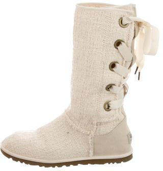 UGGUGG Australia Heirloom Lace-Up Boots