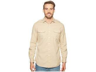 Polo Ralph Lauren Garment Dyed Chino Long Sleeve Sport Shirt Men's Clothing