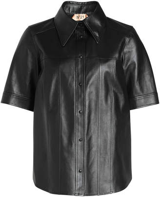 N°21 Leather Shirt
