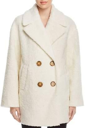 Kate Spade Teddy Faux Fur Coat