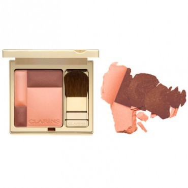 Clarins illuminating cheek colour #4 sunset coral