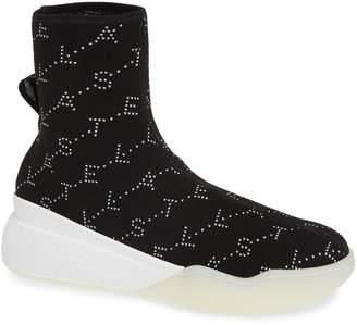 Stella McCartney Logo Slip-On Sock Sneaker