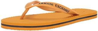 Armani Exchange A|X Men's Solid Flip-Flop