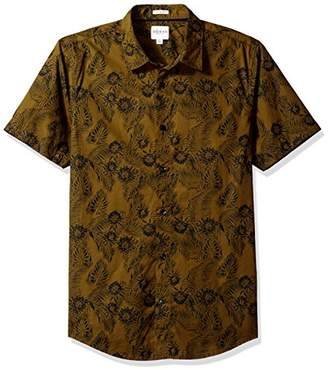 GUESS Men's Ink Palm Laguna Shirt