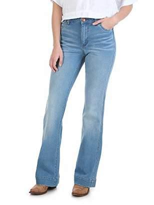 Wrangler Women's Retro Premium High Waist Trouser