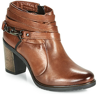 Dream in Green HANFINE women's Low Boots in Brown