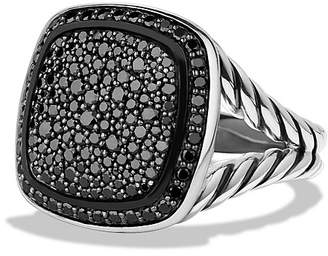 David Yurman Albion Ring with Black Diamonds