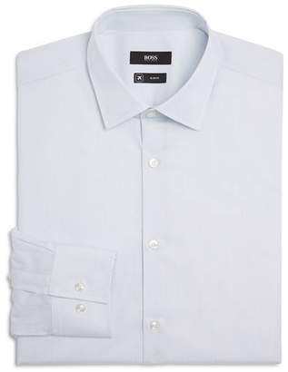 BOSS Jenno Hairline Stripe Slim Fit Fresh Active Dress Shirt - 100% Exclusive