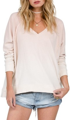 Women's Volcom Living Coral Ombre Pullover $49.50 thestylecure.com