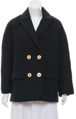 Zadig & Voltaire Wool Double-Breasted Coat