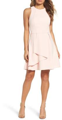 Adelyn Rae Athena Fit & Flare Dress