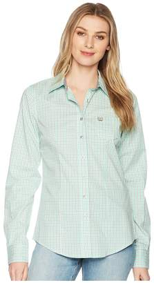 Cinch Cotton Plain Weave Plaid Women's Clothing