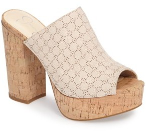 Women's Jessica Simpson Giavanna Open Toe Platform Slide $109.95 thestylecure.com