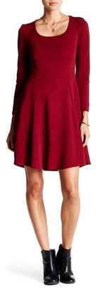 24\u002F7 Comfort Scoop Neck Fit & Flare Dress (Plus Size Available)
