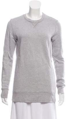 Rag & Bone Long Sleeve Bateau Neckline Sweatshirt