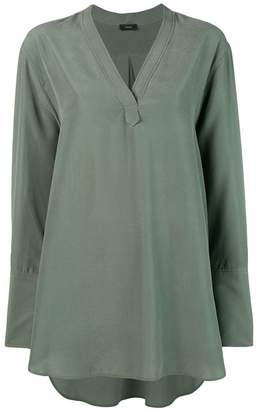 Joseph V-neck blouse