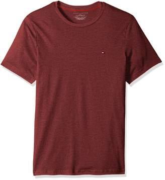 Tommy Hilfiger Men's Core Flag Crew Neck T-Shirt