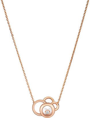 Chopard Happy Dreams Necklace with Diamond in 18K Rose Gold