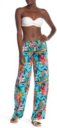 Tommy Bahama Floraiana Floral Printed Cover-Up Pants