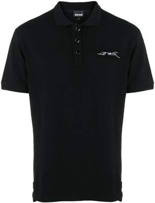Just Cavalli short sleeved polo shirt